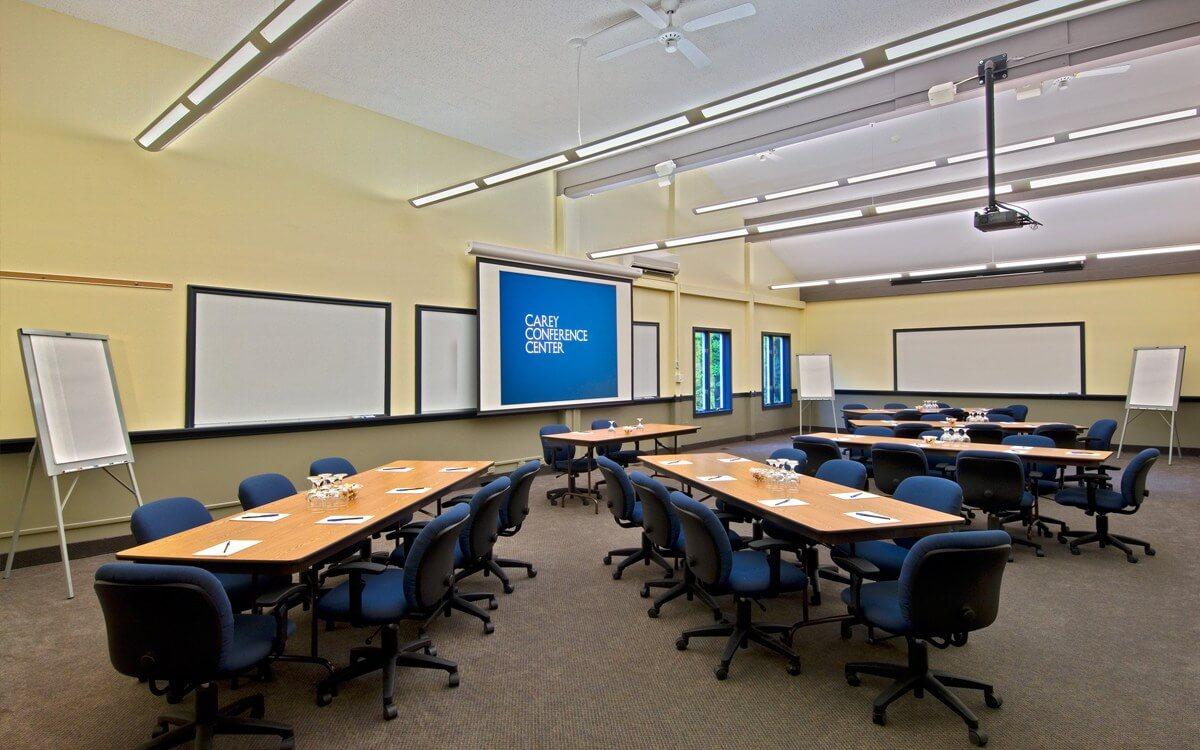 modern meeting space